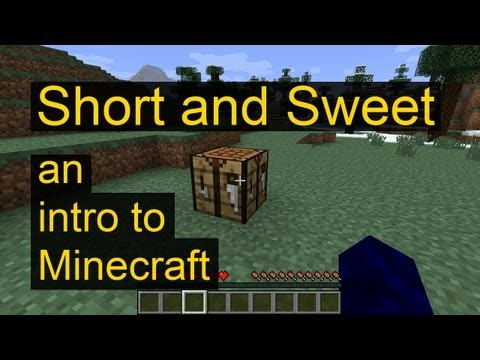 Minecraft Short And Sweet