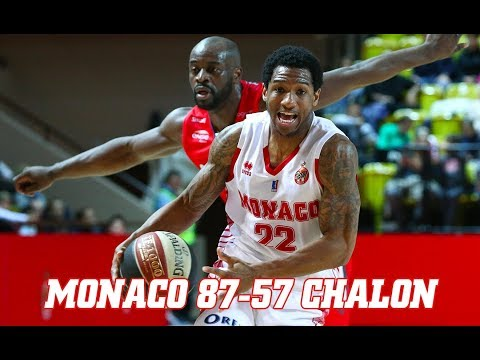 Pro A — Monaco 87 - 57 Chalon — Highlights