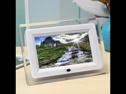 Recens. ITA Mohoo 7 pollici Cornice digitale/Digital Photo frame LCD Remote