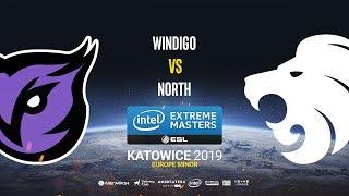 Windigo vs North - IEM Katowice EU Minor - map1 - de_overpass [TheCraggy & Gromjkee]