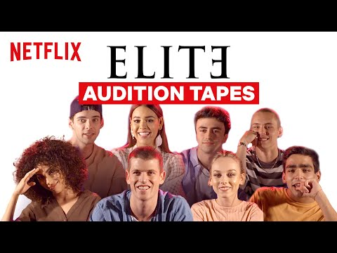 The Cast of Elite Reacts to Audition Tapes | Netflix