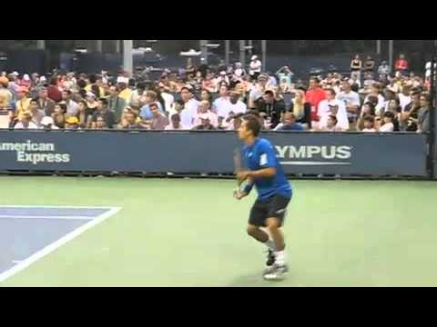 Backhands from 2010 US Open