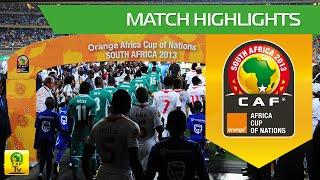 Nigeria win the Orange Africa Cup of Nations, SOUTH AFRICA 2013 Le Nigéria remporte la Coupe d'Afrique des Nations Orange,...
