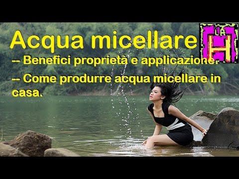 i benefici e le proprietà dell'acqua micellare