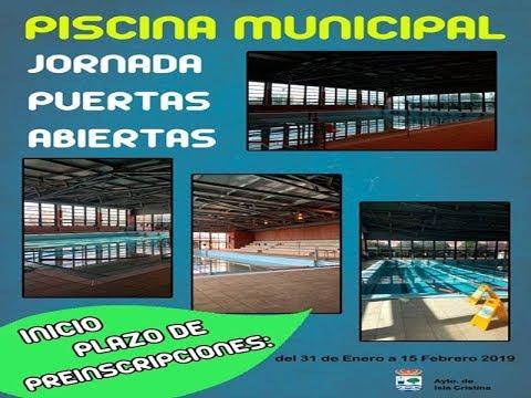 Jornadas de Puertas Abiertas Piscina Municipal de Isla Cristina