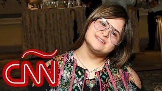 """""""Me siento feliz de tener síndrome de Down"""": una diseñadora que rompe barreras"""
