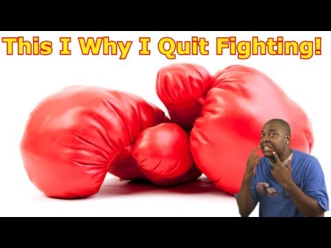 I Officially Quit Fighting! 😮VLOG😮 (David Spates)