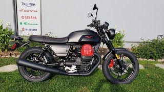 6. 2018 Moto Guzzi V7 III Carbon Dark Review