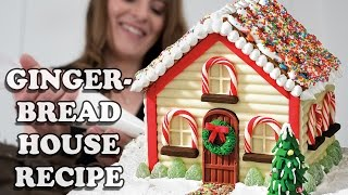 WIN A STAND MIXER ... GINGERBREAD HOUSE RECIPE How To Cook That Giveaway