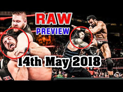 Roman Reigns का बदला - WWE Monday Night RAW - 14th May 2018 - Highlights Preview - Hindi