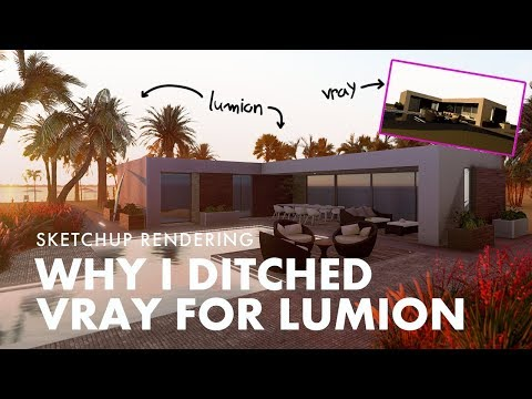 Why I Ditched Vray for Lumion