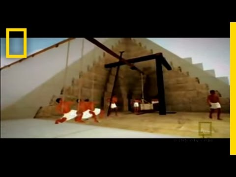 Great - How were the blocks raised to the top of the 489ft Great Pyramid? An architect develops a theory about a snaking internal ramp that's been hidden inside the ...