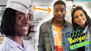 We Ate at Good Burger and Met Kel Mitchell by Clevver Style