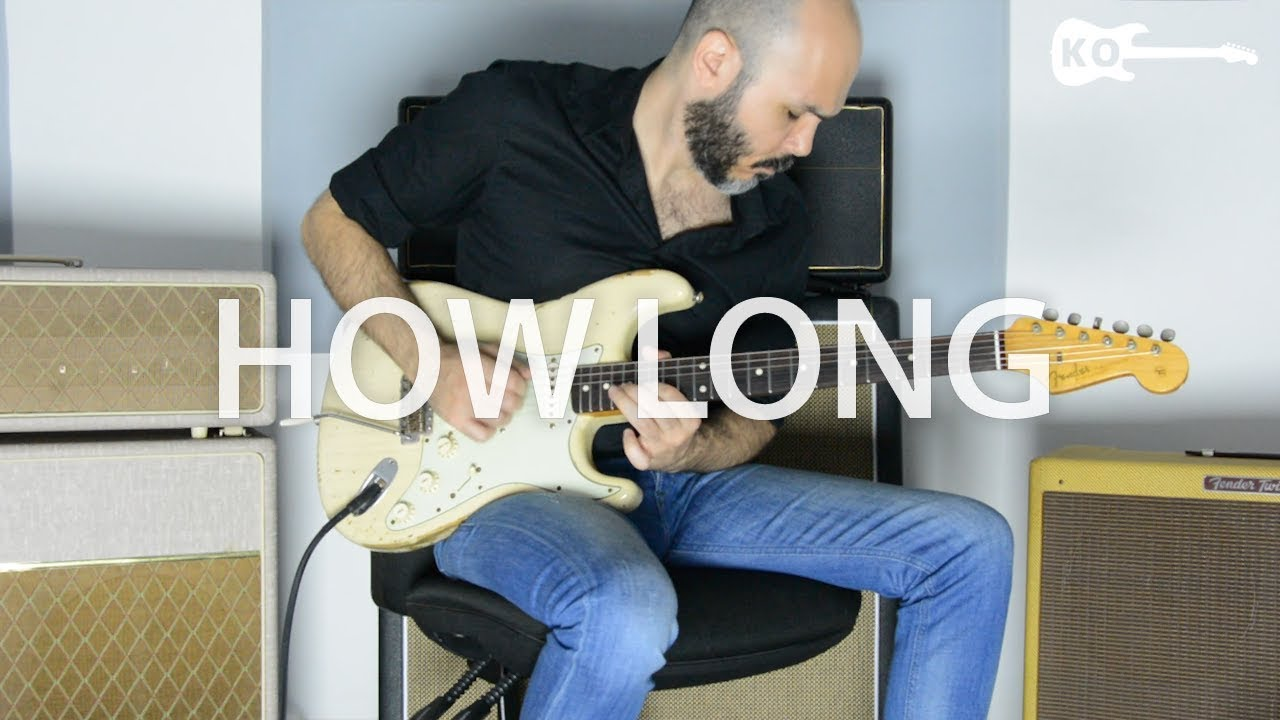 Charlie Puth – How Long – Electric Guitar Cover by Kfir Ochaion