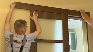 Установка раздвижной межкомнатной двери