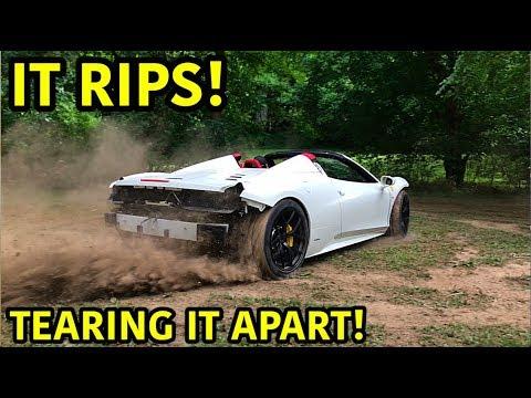 Rebuilding A Wrecked Ferrari 458 Spider Part 5