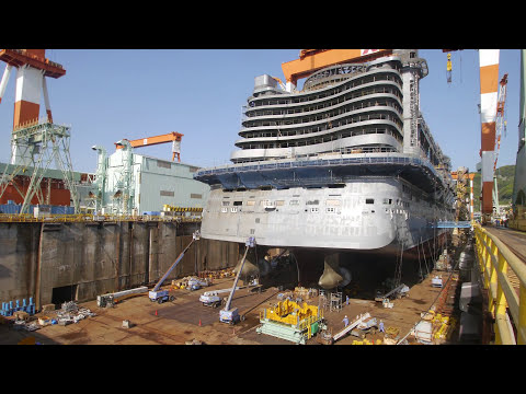 Cruise Ship Construction Time Lapse