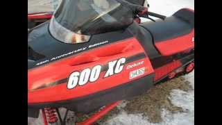 9. Polaris Indy  600 Xc Deluxe 45th Anniversary Edition