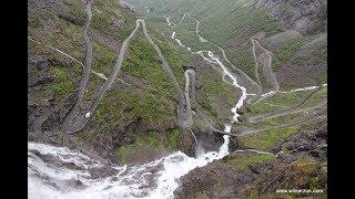 Bilresa genom Fjordnorge under 9 dagar. Roliga och spännande vägar, berg, dalar, fjordar, vattenfall ... vilken natur. 5 stjärnor till...
