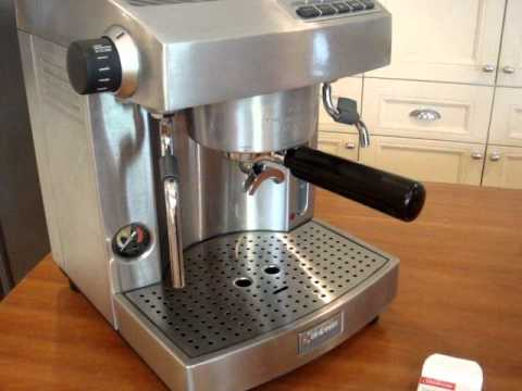 Sunbeam Cafe series coffee machine cleaning with espresso machine cleaning tablets