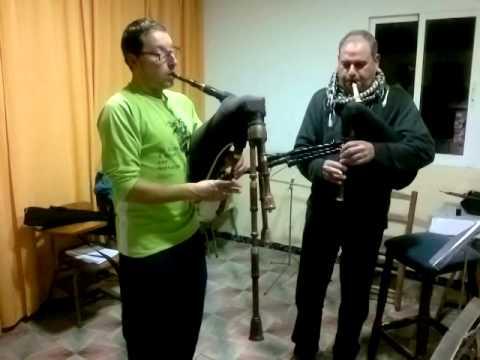 Eduard Navarro i Ricardo Alcaràz. Jota de Benigànim amb Sacs de gemecs.
