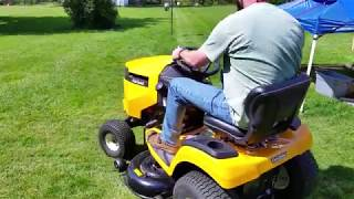 9. 2017 CUB CADET XT1 ENDURO SERIES REVIEW AND MOWING FOOTAGE