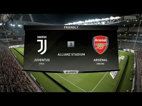 FIFA 19 JUVENTUS VS ARSENAL XBOX ONE S FULL FOOTBALL MATCH GAMEPLAY
