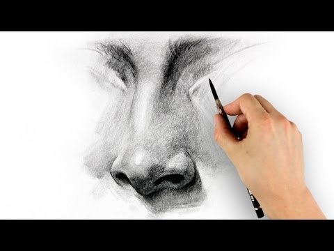 How To Draw A Nose - Step By Step