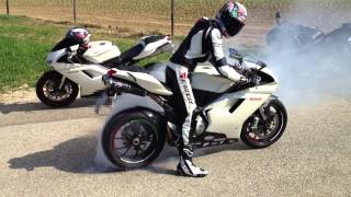 10. DUCATI 848 burnout HQ