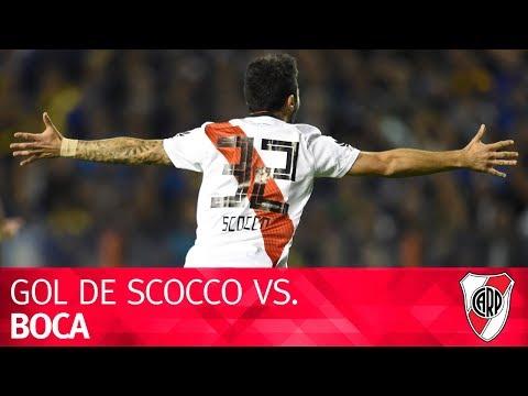 Gol de Nacho Scocco en el Superclásico