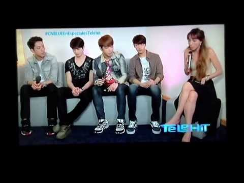 CNBLUE en Especiales Telehit Part 1