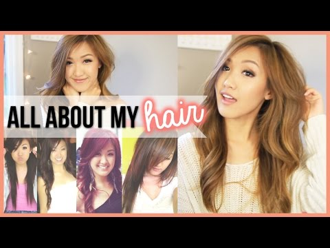 color - Please LIKE this video if you enjoyed it! Finally, I'm here to answer all the FAQ's on my hair. The history of it, my hair color, my hair stylist, how I maintain it, and would I ever dye my...