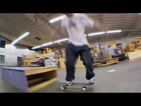 Corey Sheppard & me skating the at World Industries / Dwindle warehouse.