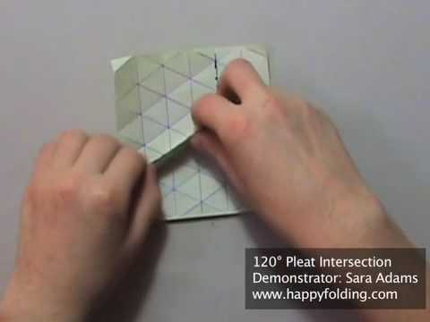 Tip 83 - Tessellation Basics: 120 Degree Pleat Intersection