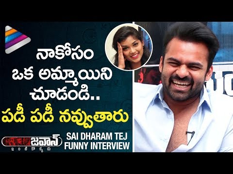 Sai Dharam Tej Makes FUN of Anchor | JAWAAN Telugu Movie Exclusive Interview | Mehreen | Thaman S