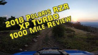 2. 2018 Polaris RZR XP Turbo 1000 Mile Review + climbing Heart Attack Hill