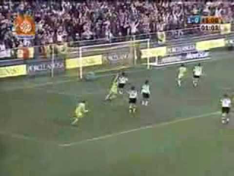 Video Juan Roman Riquelme gol contra Valencia