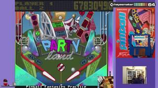 Pinball Fantasies: Party Land (Amiga) by hayesmaker64