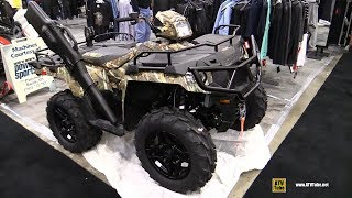 9. 2016 Polaris Sportsman 570 SP Hunter Edition Recreational ATV - Walkaround - 2016 Toronto ATV Show