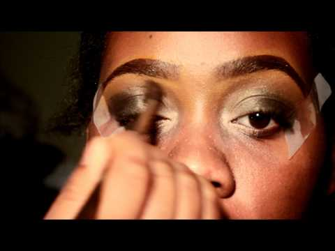 GET READY WITH ME:BEIGE,GOLD AND ARMY SMOKEY FUSION MAKE-UP TUTORIAL