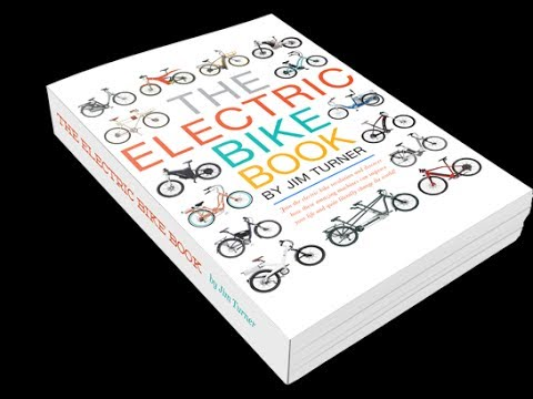 The Electric Bike Book Trailer