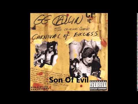 GG Allin - Carnival Of Excess (Full Album)