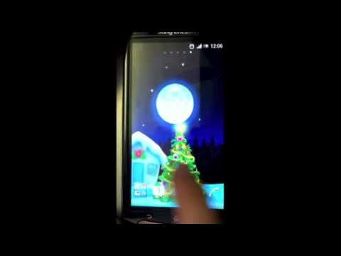 Video of Santa's House - Live wallpaper