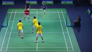 Video Amazing 3 on 3 Badminton Legends' Vision _ Lee Chong Wei MP3, 3GP, MP4, WEBM, AVI, FLV Oktober 2018