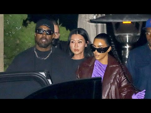 Kim Kardashian And Kanye West Are Back Together... For Dinner With Friends