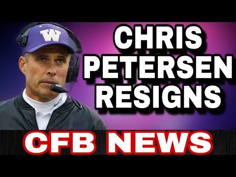 Chris Petersen Steps Down as Washington Huskies Head Coach