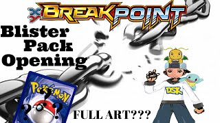Pokemon TCG BreakPoint Blister Opening.... FULL ART?!?!? by Demon SnowKing