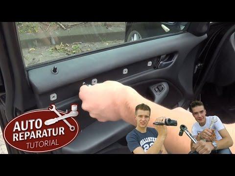 FENSTERHEBER reparieren TÜRVERKLEIDUNG ausbauen BMW E46 [Tutorial] HD window door panel