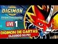 Digimon Digital Card Battle (PS1) Ao vivo #1 - Digimon de Carta!