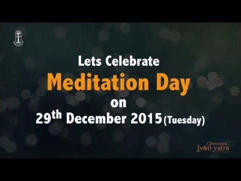 Meditation Day - 29th December 2015